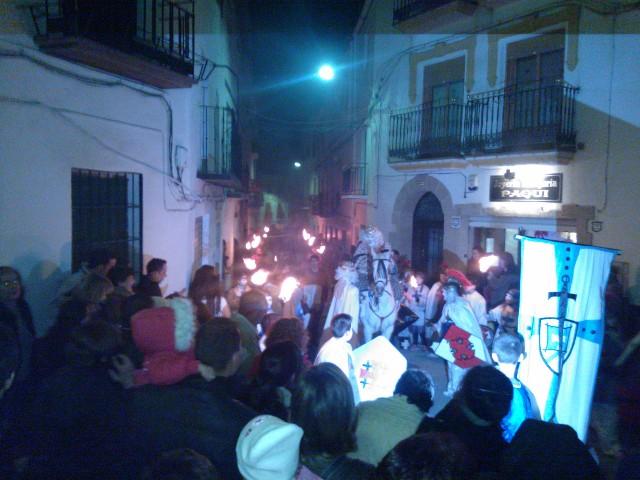 Cabalgata de Reyes Magos en Cádiar