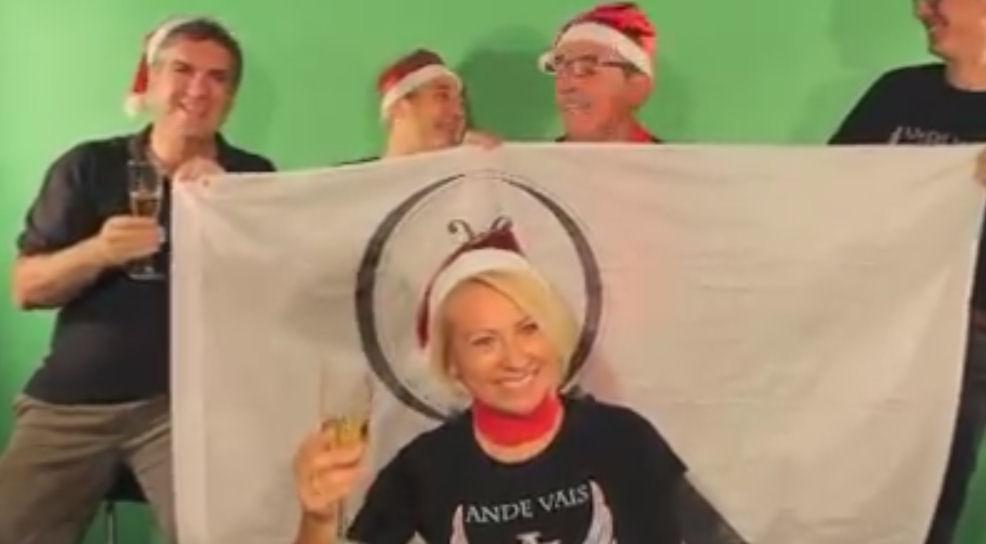 Felicitación de Navidad para Fun and Find