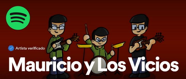 Mauricio y Los Vicios Spotify
